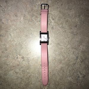 Pink Leather Fossil Watch